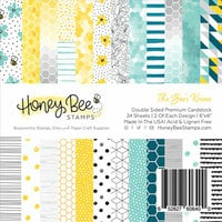 Honey Bee Stamps - 6 x 6 Paper Pad - The Bee's Knees