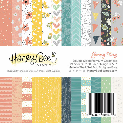 Honey Bee Stamps Spring Fling 6x6
