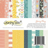 Honey Bee Stamps - 6 x 6 Paper Pad - Spring Fling