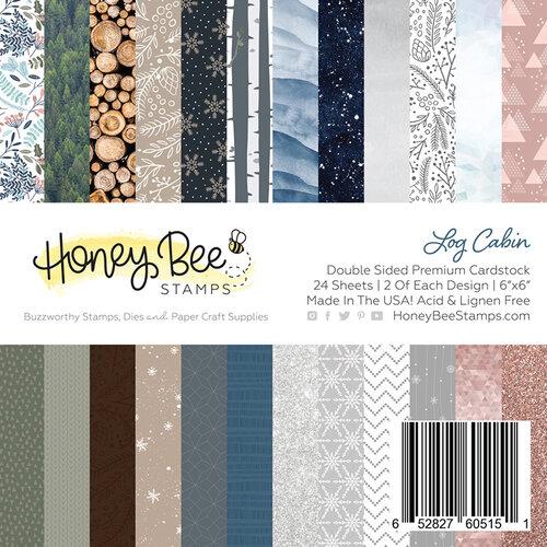 Honey Bee Stamps Log Cabin 6x6