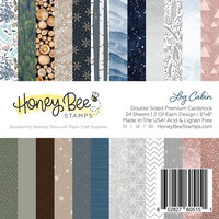 Honey Bee Stamps - 6 x 6 Paper Pad - Log Cabin