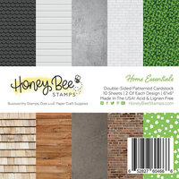 Honey Bee Stamps - 6 x 6 Paper Pad - Home Essentials Paper Pack