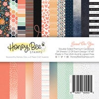 Honey Bee Stamps - 6 x 6 Paper Pad - Sweet On You