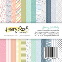 Honey Bee Stamps - 6 x 6 Paper Pad - Spring Lullaby
