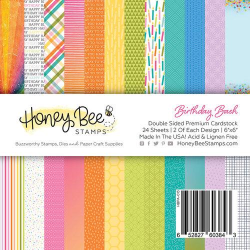 Honey Bee Stamps - 6 x 6 Paper Pad - Birthday Bash