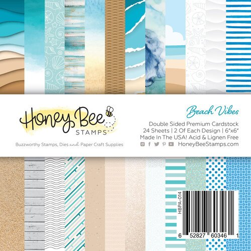 Honey Bee Stamps Beach Vibes