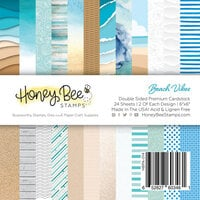 Honey Bee Stamps - Paradise Collection - 6 x 6 Paper Pad - Beach Vibes