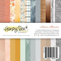 Honey Bee Stamps - 6 x 6 Paper Pad - Autumn Afternoon