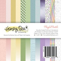 Honey Bee Stamps - 6 x 6 Paper Pad - Playful Pastels