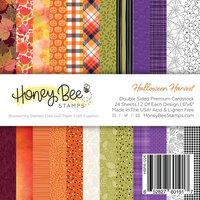 Honey Bee Stamps - Autumn Splendor Collection - 6 x 6 Paper Pad - Halloween Harvest