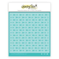 Honey Bee Stamps - Bee Mine Collection - Stencil - Cupids Arrow