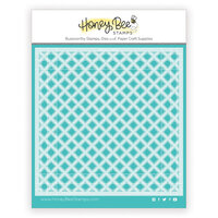 Honey Bee Stamps - Paradise Collection - Stencils - Garden Lattice