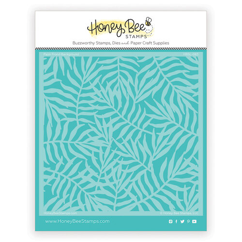 Honey Bee Stamps - Paradise Collection - Stencils - Palm Frond