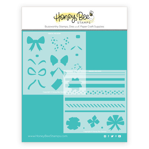 Honey Bee Stamps - Stencils - Ribbons and Bows