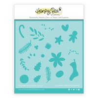 Honey Bee Stamps - Stencils - Country Christmas Wreath