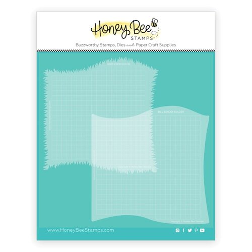 Honey Bee Stamps - Stencils - Grassy Hill Borders