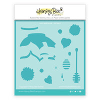 Honey Bee Stamps - Let's Celebrate Collection - Stencils - Just BEEcause Jar