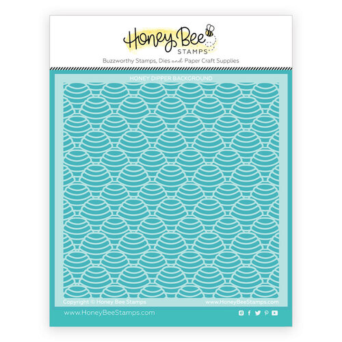 Honey Bee Stamps - Let's Celebrate Collection - Stencils - Honey Dipper