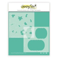 Honey Bee Stamps - Autumn Splendor Collection - Stencils - Patchwork Pumpkin
