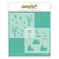 Honey Bee Stamps - Autumn Splendor Collection - Stencils - Trick Or Treat