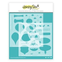Honey Bee Stamps - Vintage Holiday Collection - Stencils - Layering Vintage Ornaments