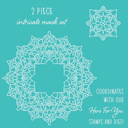 Honey Bee Stamps - Stencil - Mandala