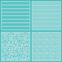 Honey Bee Stamps - Stencil - Sheet Music