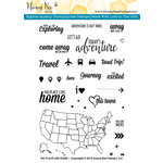 Honey Bee Stamps - Clear Acrylic Stamps - No Place Like Home