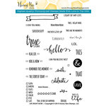 Honey Bee Stamps - Clear Acrylic Stamps - Life Right Now
