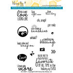 Honey Bee Stamps - Clear Acrylic Stamps - Oh, Snap