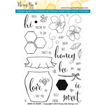 Honey Bee Stamps - Clear Acrylic Stamps - Sweet As Honey