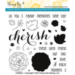 Honey Bee Stamps - Clear Acrylic Stamps - Cherish