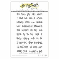 Honey Bee Stamps - Clear Photopolymer Stamps - Love Bug
