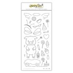 Honey Bee Stamps - Clear Acrylic Stamps - Pinky The Pig