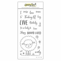 Honey Bee Stamps - Clear Photopolymer Stamps - Lily The Lamb