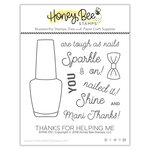 Honey Bee Stamps - Clear Acrylic Stamps - Shine On