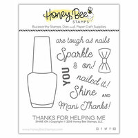 Honey Bee Stamps - Clear Photopolymer Stamps - Shine On