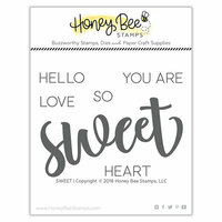 Honey Bee Stamps - Clear Acrylic Stamps - Sweet