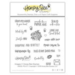 Honey Bee Stamps - Clear Acrylic Stamps - Angel Policy