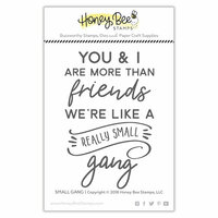 Honey Bee Stamps - Clear Acrylic Stamps - Small Gang