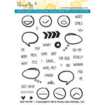 Honey Bee Stamps - Clear Acrylic Stamps - Just Sayin