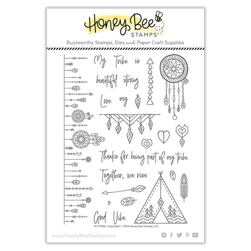 Honey Bee Stamps - Clear Acrylic Stamps - My Tribe