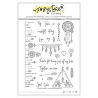 Honey Bee Stamps - Clear Photopolymer Stamps - My Tribe