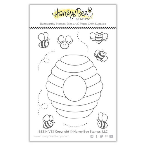 Honey Bee Stamps - Clear Photopolymer Stamps - Bee Hive