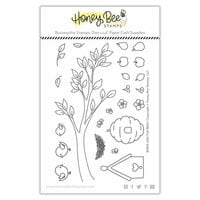 Honey Bee Stamps - Clear Photopolymer Stamps - Birds and the Bees
