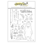 Honey Bee Stamps - Clear Photopolymer Stamps - Bill the Bear