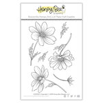 Honey Bee Stamps - Clear Photopolymer Stamps - Cosmos