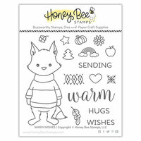 Honey Bee Stamps - Clear Photopolymer Stamps - Warm Wishes