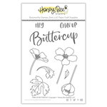Honey Bee Stamps - Clear Photopolymer Stamps - Chin Up Buttercup