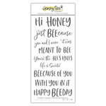 Honey Bee Stamps - Clear Photopolymer Stamps - Hi Honey